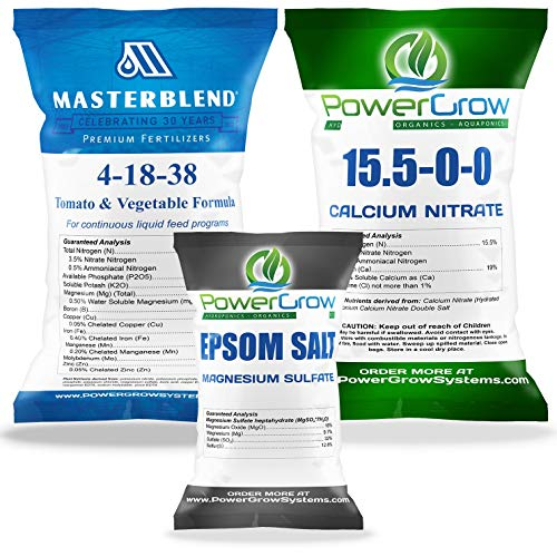 MASTERBLEND 4-18-38 Complete Combo Kit Fertilizer Bulk (2.5 Pound Kit)