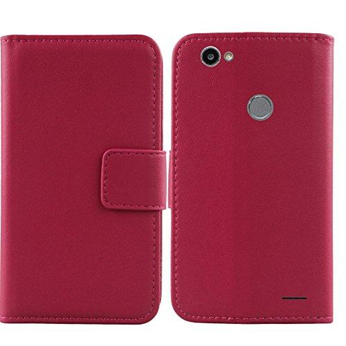 Gukas Design Echt Leder Tasche Für Medion Life E5008 MD 60746 5