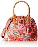 Oilily Damen Boston Bag Henkeltasche, Pink (Pink flamingo), 16x27x36 cm