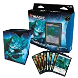 Magic The Gathering Kaldheim Commander Deck – Phantom Premonition | 100 Card Ready-to-Play Deck | Blue-White