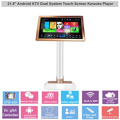 Buy Bargain HAJURIZ 22'' Touch Screen Karaoke Player,2TB HDD With English,Cambodian Songs,240K Multi...
