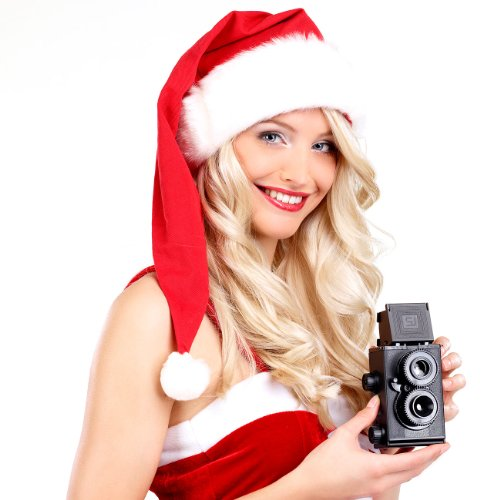 Somikon Kamera Bausatz: Zweiäugige Spiegelreflex-Kamera zum Selberbauen (Kamera selber Bauen)