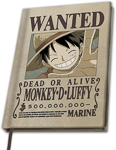 One Piece - Monkey D Luffy - Notizbuch | Anime | Manga
