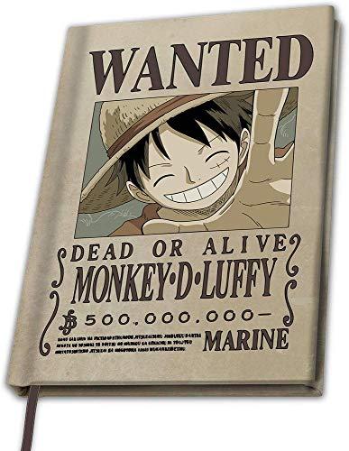 One Piece - Monkey D Luffy - Notizbuch | Anime | Manga
