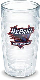 Tervis DePaul University Emblem Individual Tumbler, 10 oz, Clear