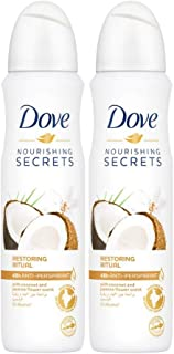 Dove Original Antiperspirant Deodorant Spray for Women, 150ml (Pack of 2)