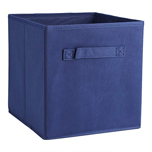 Cesta de almacenamiento, tela transpirable fácil de limpiar Asas fáciles de agarrar Caja de almacenamiento liviana Patrón elegante para dormitorio