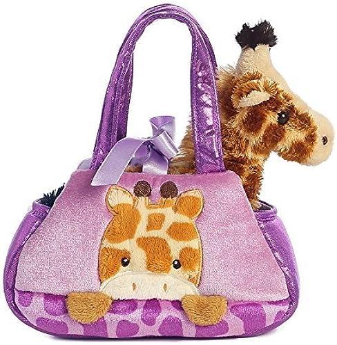 Aurora World Fancy Pals Peek-A-Boo Giraffe Pet Carrier by Aurora World