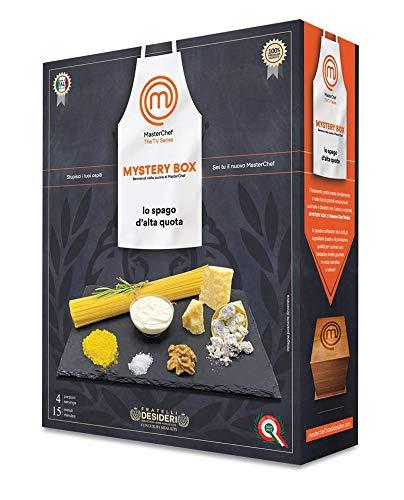 Mystery Box Masterchef - Lo Spago d'Alta Quota - Cofanetto Cena Gourmet per 4 Persone…