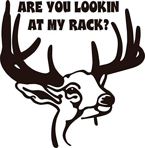 stickers muraux prenom personnalisé Vous regardez mon rack? Buck Animal Graphic for living bedroom nursery chambre d'enfants