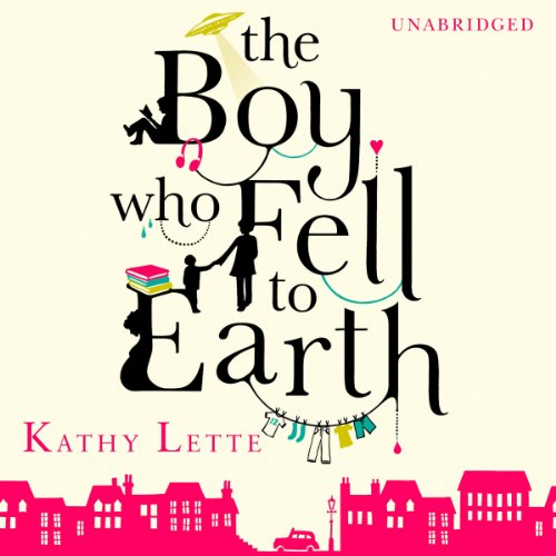 The Boy Who Fell to Earth audiobook cover art