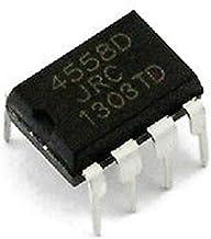 Superele 100PCS JRC4558D NJM4558D JRC 4558 4558D DIP8 OPAMP OP AMPS CHIP IC op-amp