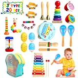 TIKTOK Kids Musical Instruments Baby Musical Toys 13 Types 20pcs...