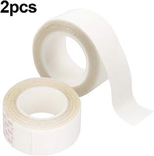 Natuce 2PCS 6 Metros Cinta Adhesiva de Doble Cara para Peluca, 20mm Cinta de Peluca,Cuerpo Cinta Doble Cara, Cinta Transpa...