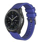 NotoCity Correa para Amazfit Bip Xiaomi, 20mm Repuesto de Correa Reloj de Silicona para Garmin Forerunner 235/245/Vivoactive 3/Huawei Watch 2/Samsung Galaxy Watch 42mm/Gear Sport/Active