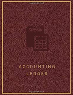 Accounting Ledger: Basic Accounting Ledger for Bookkeeping