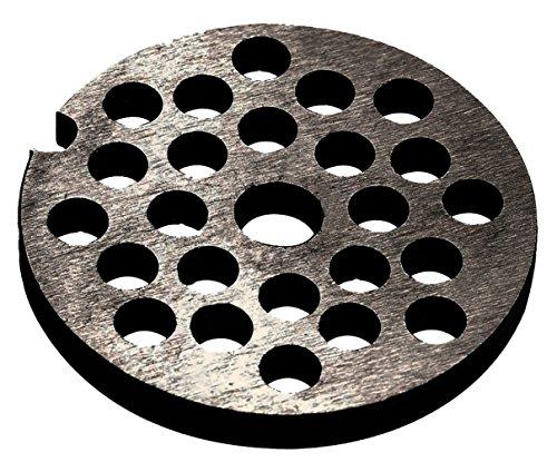 Westmark Ersatz-Lochscheibe für Westmark Fleischwolf 97542260/Gr. 10, Stahl, Lochungsdurchmesser: 6 mm, 14812250