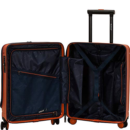 Rockland Tokyo Hardside Laptop Carry-On Spinner Luggage, Navy