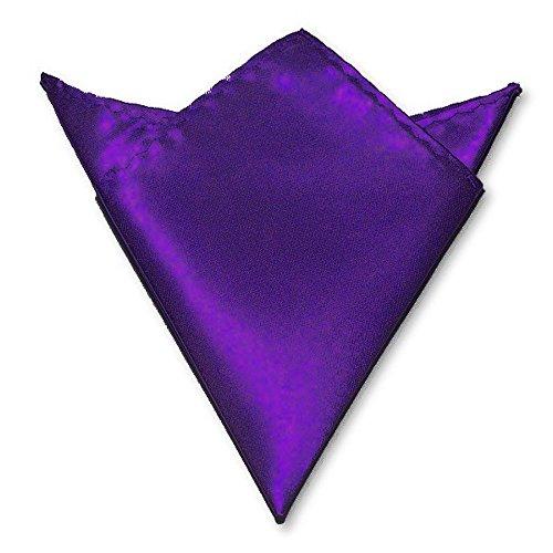 LABEL-CRAVATE Pochette, mouchoir costume violet, finitions main