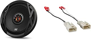 "$59 » JBL CLUB6520 6.5"" 300W Club Series 2-Way Coaxial Car Speaker (1 Pair) & Metra 72-8104 Speaker Connector for Select Toyota ..."
