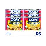 Goya Chiles serranos en escabeche - 6 unidades x 312g 1872 g