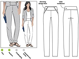 Style Arc Sewing Pattern - Beth Pant (Sizes 04-16) - Click for Other Sizes Available