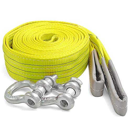 Why Choose LPYMX Car Traction Rope Tow Rope, Heavy-Duty Vehicles Such as Trucks Towing Trailers Shen...