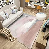 Kunsen terrassenteppich Rosa Teppich ist weich und verschleißfest für das Wohnzimmer und das Kinderzimmer vorzimmer möbel terrassen deko