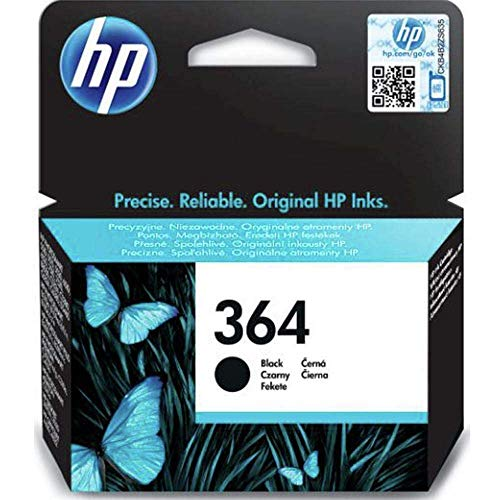 HP CB316EE 364 Original Tintenpatrone, schwarz, Einzelpackung