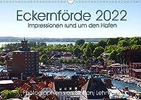 Eckernfoerde 2022. Impressionen rund um den Hafen (Wandkalender 2022 DIN A3 quer): Impressionen von der Stadt mit vier Haefen: Eckernfoerde. (Monatskalender, 14 Seiten )