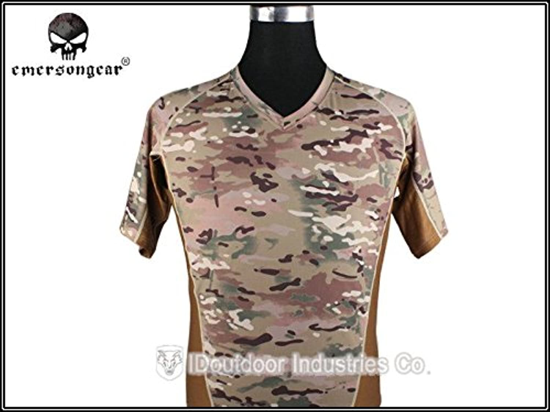 Generic M  Emerson Skin Tight Base Layer Camo Running Shirts atmungsaktiv Schwei Tshirt Multicam em9167m