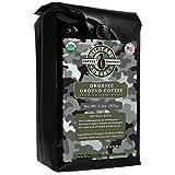 Military Grade Ground Coffee, The Strongest Coffee On The Planet, USDA Organic - 2 lb. Bulk Bag