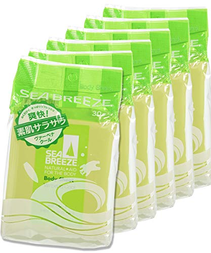 【まとめ買い】シーブリーズ ボディシート ヴァーベナクールの香り 30枚×6個セット