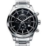 Sandoz 81383-57 - Reloj de Pulsera, Correa de Acero Inoxidable