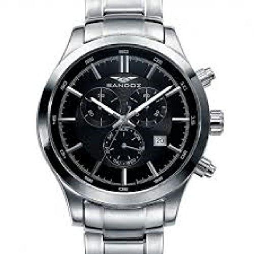 Sandoz 81383-57 - Reloj de Pulsera (Correa de Acero Inoxidable)