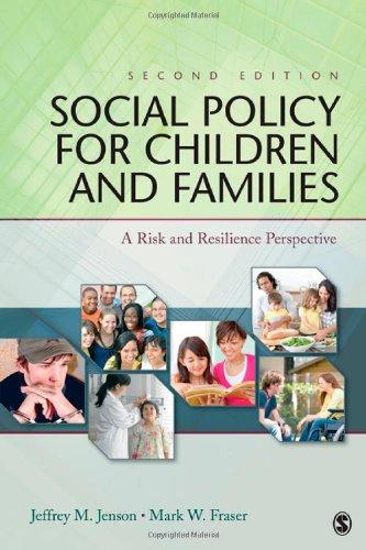 Social Policy for Children and Families: A Risk and...