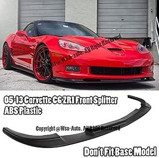 EOS Body Kit Front Bumper Lip Splitter - For Chevrolet Chevy Corvette C6 Z06 ZR1 05-13 2005 2006 2007 2008 2009 2010 2011 2012 2013 ZR1 Style