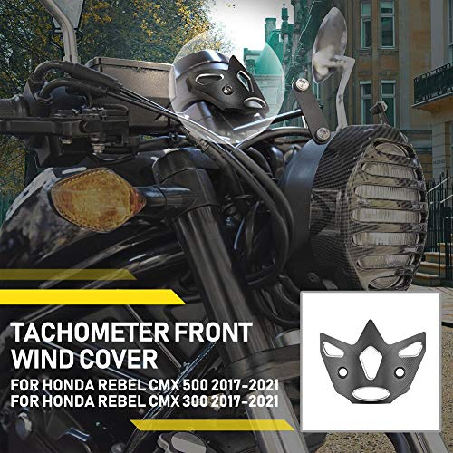 Lorababer Motocicleta para CMX 500 300 Rebel Accesorios