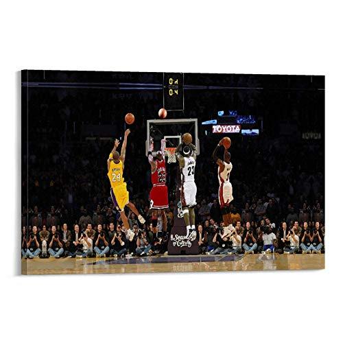 Generies, Legends Kobe-Bryant-&-Michael-Jordan & Lebron James-Inspirational
