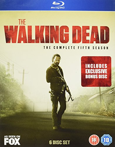 The Walking Dead - Season 5 with Bonus Disc (Amazon.co.uk Exclusive Limited Edition) [Blu-ray] [2015] [Reino Unido]
