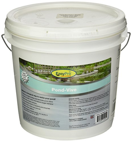 EasyPro Pond Products PB10X 20 Count Pond-Vive Bacteria X Water Soluble Supplement, 8 oz