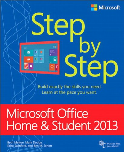 Microsoft Office Home and Student 2013 Step by Step (English Edition)