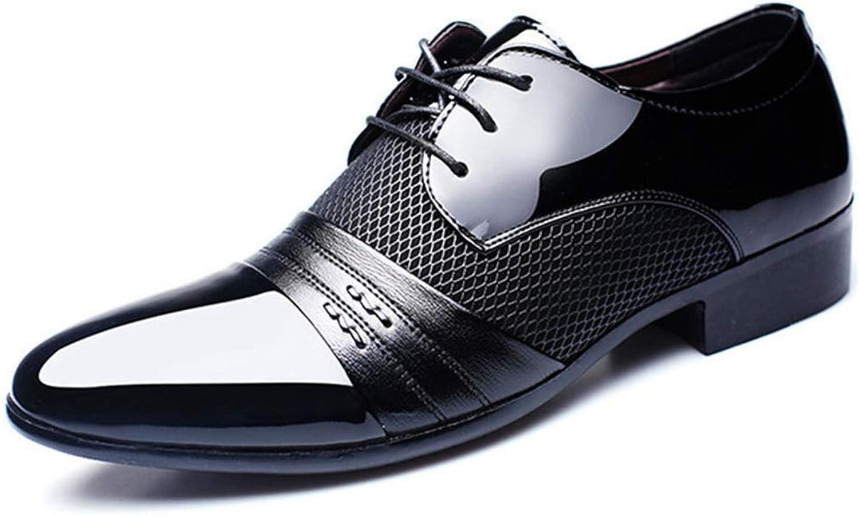 Men Dress shoes Business Flat shoes Breathable Low Top Formal Office shoes