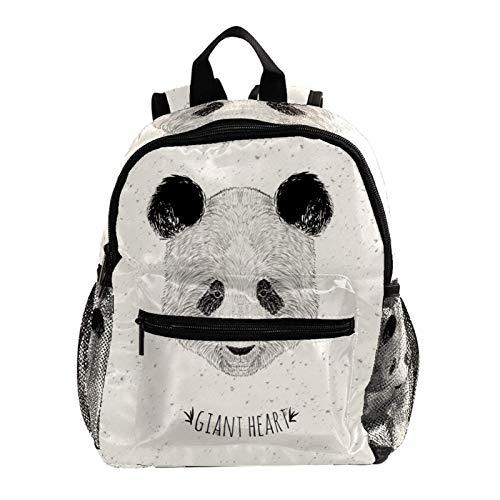 Kid Child Girl Cute Patterns Printed Backpack School Bag,Panda Beige Animal