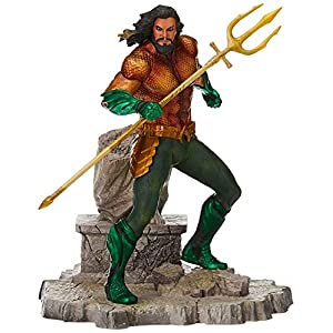 Diamond- DC Movie Gallery Comics Estatua Aquaman, Color surtido (DIAMAUG182575) 4