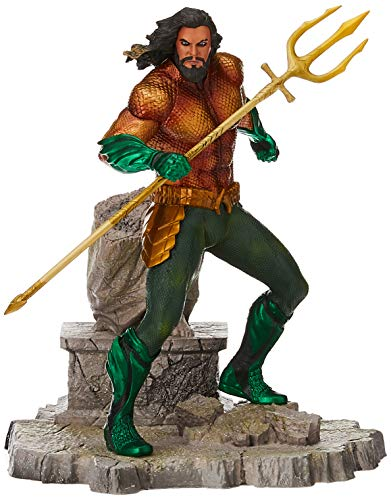 Diamond- DC Movie Gallery Comics Estatua Aquaman, Multicolor (DIAMAUG182575)