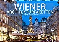 Wiener Architektur-Facetten (Wandkalender 2022 DIN A2 quer): Hanna Wagner Reisefotografie zeigt die kontrastreichen Facetten der Donaumetropole mit einer inspirierenden Bilderserie. (Monatskalender, 14 Seiten )