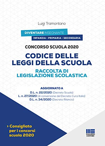 Concorso Scuola 2020 - Codice delle Leggi Della Scuola
