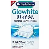 Dr Beckmann Glowhite Ultra - Blanqueador de tela (2 bolsas de 40 g)