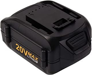 20V 4.0Ah WA3520 Replacement Lithium-ion Battery for Worx Cordless Power Tools Series WG151s, WG155s, WG251s, WG255s, WG540s, WG545s, WG890, WG891